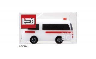 トミカキャンドル救急車