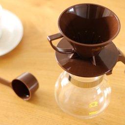 KONO式ドリップセット 2人用 チョコレート