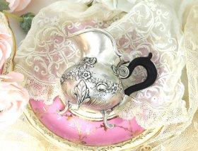 フランスアンティークシルバー【純銀950】小さなクリームジャグ