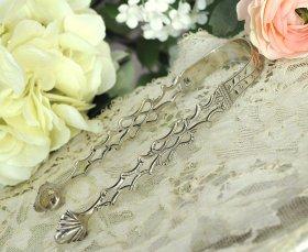 英国アンティーク銀器【純銀】c.1790 シュガートング