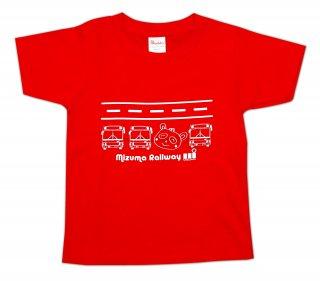 水間鉄道オリジナルキッズTシャツ01