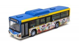 かわさきノルフィン×ハローキティコラボラッピングバスコレクション(ノルフィンパレード号)(川崎市交通局)