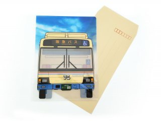 阪急バス A5クリアファイル