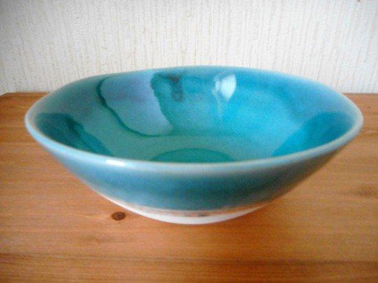 艶釉のボウル(トルコ・M)