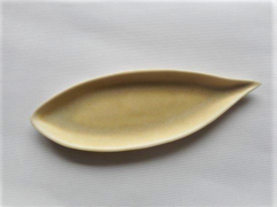 佐々木綾子(AYAKO SASAKI porcelain)leaf#4(イエロー)