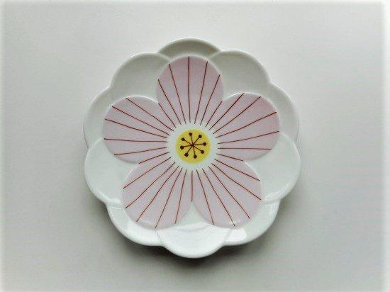 ハレクタニ ハナ取り皿(ピンク)