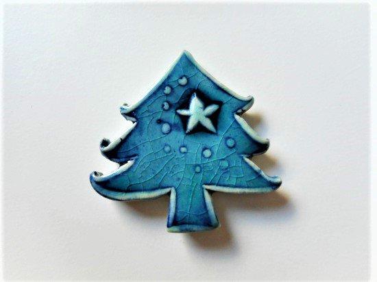 TOMI-kobo クリスマスツリーの箸置き(エメラルド)