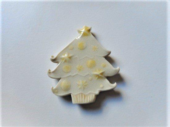 TOMI-kobo クリスマスツリーの箸置き(白)