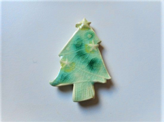 TOMI-kobo クリスマスツリーの箸置き(緑・大)