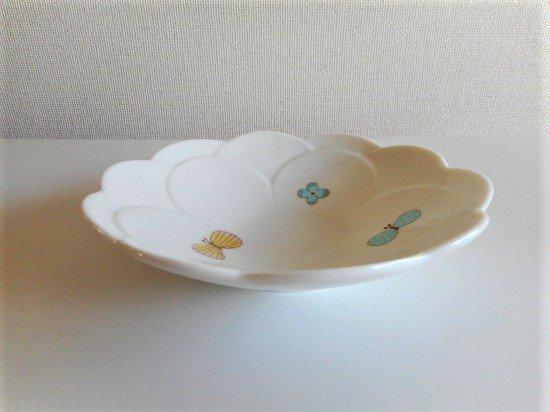 ハレクタニ チョウ中鉢(ブルー)