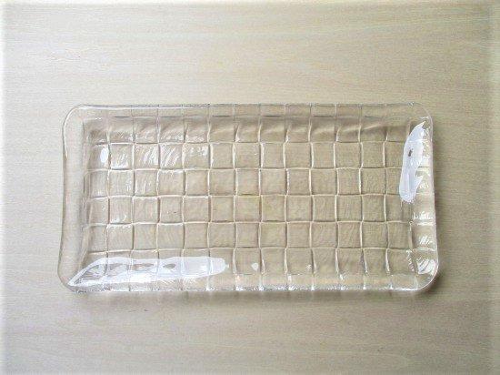 アデリア スクエアガラスプレート(長角)