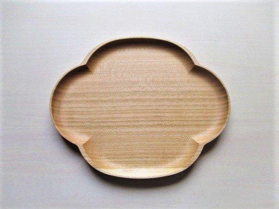 四十沢木材工芸 桜小皿(木瓜)