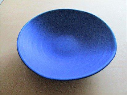瑠璃紺 深皿