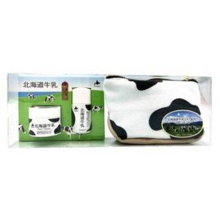 北海道牛乳 ローション(15ml)&フェイスクリーム(10g) ミニセット