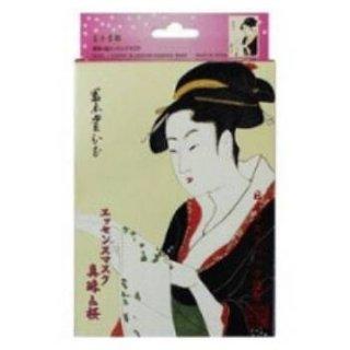 浮世絵シリーズ 歌麿ライン 真珠+桜 エッセンスマスク(10枚入り)