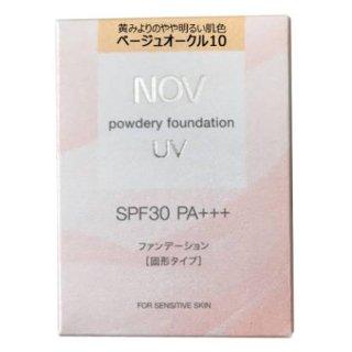 ★送料込★ノブ パウダリーファンデーションUV BO10<レフィルのみ>(12g)