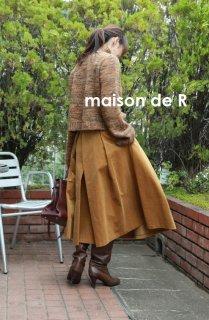 17-10 corduroy skirt (ミモレ丈)