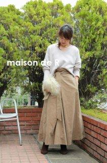 17-10 corduroy skirt (ロング丈)