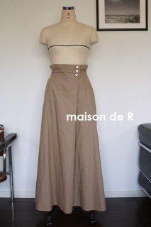 18-05 キャンバスマキシスカート