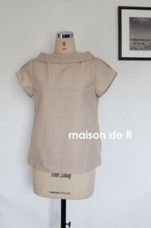 18-07 cotton typewriter blouse