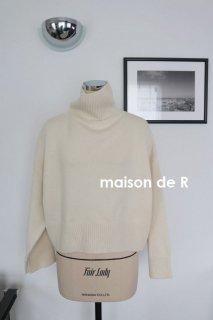 18-12・カシミヤミックスタートルセーター