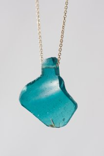 Roman glass pendant