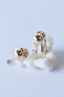 Change to clip earrings 14KGF
