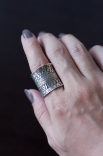 Karen Tribal Silver Ring
