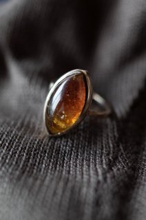 Autumn Leaf Tourmaline ring