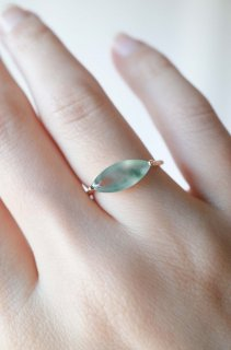 Marquis Jadeite Bar Ring