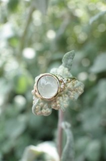Ice Jadeite MITSUBA Ring 2