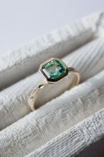 【H 様ご予約商品】Emerald Relief Ring  K18