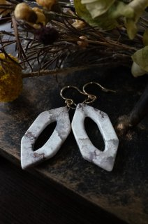 Crazylace Agate Earrings K10