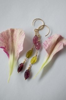 Multicolored Tourmaline Earrings