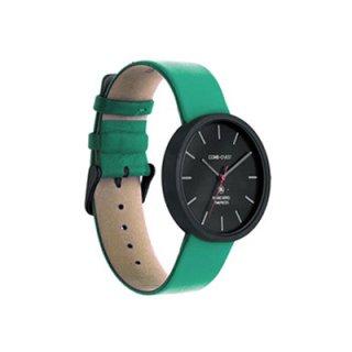 [送料無料]Comb-o Watch R37B ターコイズ(本体:ブラック&ストラップ:ターコイズ)