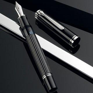 [送料無料]ペリカン 数量限定万年筆 スーべレーン815メタルストライプ