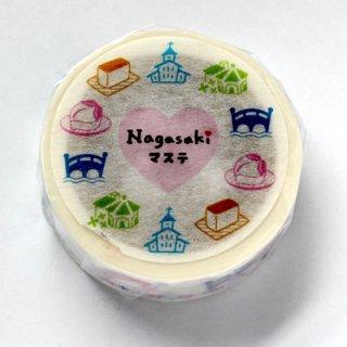 石丸文行堂 オリジナル マスキングテープ(長崎ご当地マステ1)