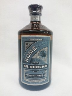 The SG Shochu KOME [高橋酒造] (米) 40% 750ml