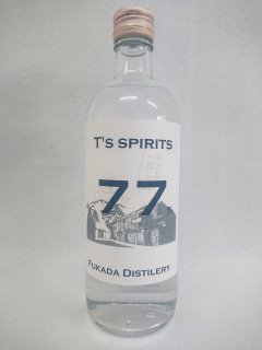 高田酒造場 T's spirits 77   77% 500ml