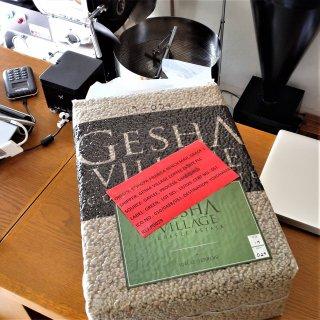 【新規入荷】ゲシャ・ビレッジ農園 ボルドーレッド25ナチュラル 浅煎り 200g