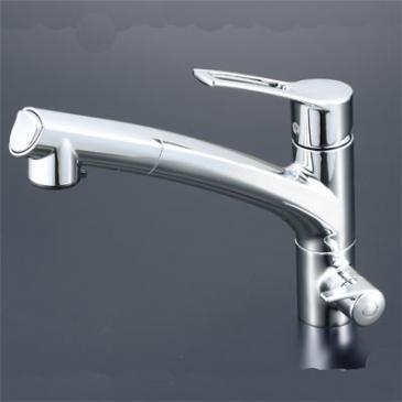 浄水器兼用水栓シャワータイプ