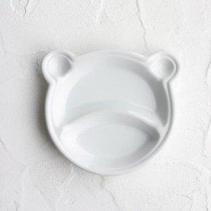 クマのキッズプレート