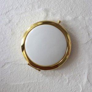 コンパクトミラー(ゴールド)