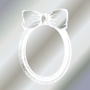 FRAME RIBBON II (フレームリボン・ガラス用ホワイト)