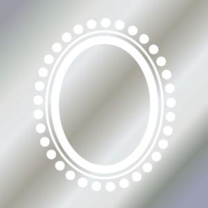 FRAME DOT (フレームドット・ガラス用ホワイト)