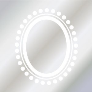 FRAME DOT(ガラス用ホワイト)