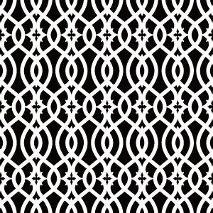 GEOMETRY (ジオメトリー/幾何学模様・ホワイト)