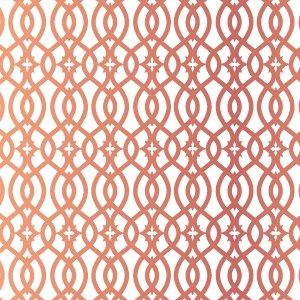 GEOMETRY (ジオメトリー/幾何学模様・メタリックピンクゴールド)