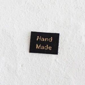 HAND MADEタグ (ゴシック体) 5枚セット