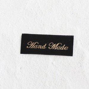 HAND MADEタグ (筆記体) 5枚セット